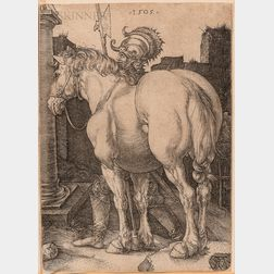Albrecht Dürer (German, 1471-1528)      The Large Horse