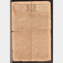 (Revolutionary War, Battle of Bunker Hill), Robbin, Captain Eleazir, His Copy