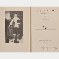 Woolf, Virginia (1882-1941) Orlando