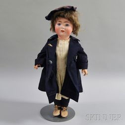 Alt, Beck & Gottschalck Bisque Head Boy Doll