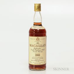 Macallan 18 Years Old 1966, 1 750ml bottle