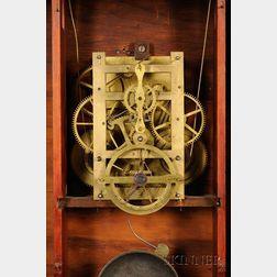 Empire Balance Wheel Shelf Clock by Silas B. Terry