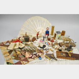Group of Assorted 19th Century Toys, Collectibles, and Other Items