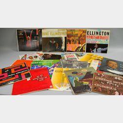 Thirteen Duke Ellington LP Records