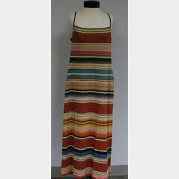 Ralph Lauren Sport Striped Knitted Linen Dress