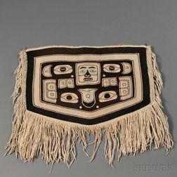 Northwest Coast Child's Chilkat Blanket or Dance Apron
