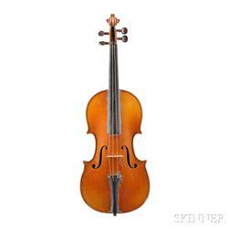 Modern French Violin, JTL Workshop, Mirecourt