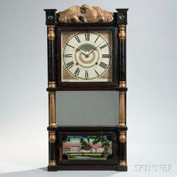 Birge, Mallory & Co. Triple-decker Shelf Clock