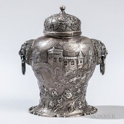 S. Kirk & Son Co. Sterling Silver Tea Canister