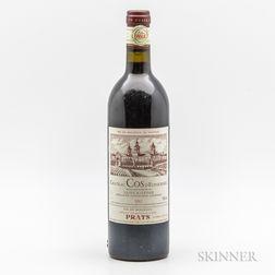 Chateau Cos dEstournel 1982, 1 bottle