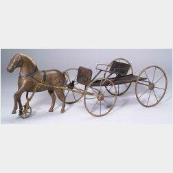 Horse and Buckboard