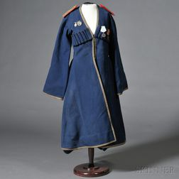 Cossack-style Coat and Four Medals
