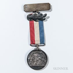 """Identified Army of the James """"Butler"""" Medal"""