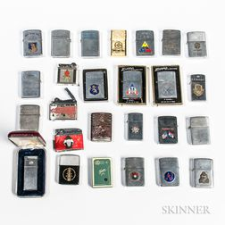 Group of Military Lighters