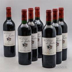 La Dame de Montrose 2000, 7 bottles