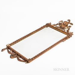 Neoclassical Carved Wood Mirror