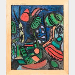 Jason Berger (American, 1924-2010)      Nightscape