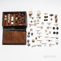 Group of Gentlemen's Items