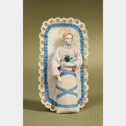 Parian Swaddling Baby