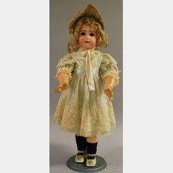 Tete Jumeau French Bisque Head Doll