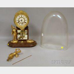 "Ansonia Crystal Palace ""No. 1 Extra"" Mantel Clock"
