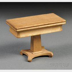 Miniature Classical Maple Games Table