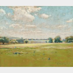John Appleton Brown (American, 1844-1902)      Spring Breezes/A Sunlit Field
