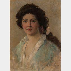 Frederick Stuart Church (American, 1842-1924)      Florence Electra Rice