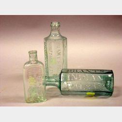 Three Pontiled Medicine Bottles