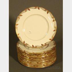 Sixteen Lenox China Dinner Plates