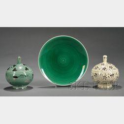 Three Wedgwood Norman Wilson Design Items