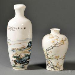 Two Porcelain Vases