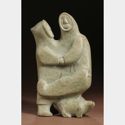 Inuit Soapstone Carving