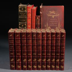 Hunt-Related Books, Sixteen Volumes: