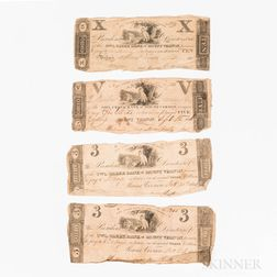 Five Owl Creek Bank of Mount Vernon, Ohio, Banknotes