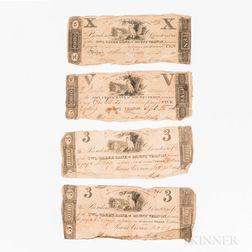Five Owl Creek Bank of Mount Vernon, Ohio, Banknotes