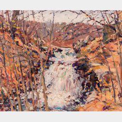 William St. George (American, 1939-2015)      Fall Landscape