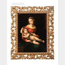 After Raphael (Italian, 1483-1520)      Copy of The Bridgewater Madonna