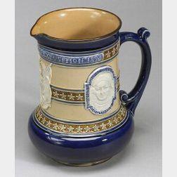 Doulton Lambeth Stoneware Columbian Exposition Jug