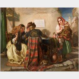 Attributed to Dioniso Baixeras y Verdaguer (Spanish, 1862-1943)  The Fortune Teller