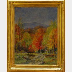 Arthur B. Wilder  (American, 1857-1945)      Pomfret Road