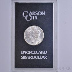 1882-CC/Carson City Morgan Dollar.
