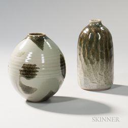 Brother Thomas Bezanson (1929-2007) Vase and A Benedictine Monks Vase