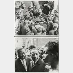 Two Associated Press Photographs of Dr. Martin Luther King, Jr.