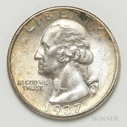1937-D Washington Quarter