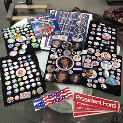 Extensive Group of Political Memorabilia