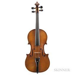 Belgian Violin, Georges Mougenot, Brussels, 1904