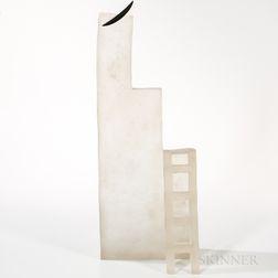 Naomi Shioya The Ladder   Art Glass Sculpture