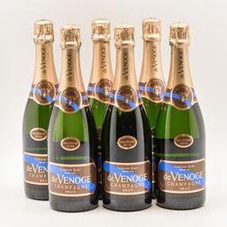 Venoge Blanc de Blancs 2002, 6 bottles (oc)