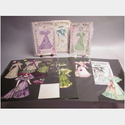 "Three Tuck ""Belle Series"" Dolls"